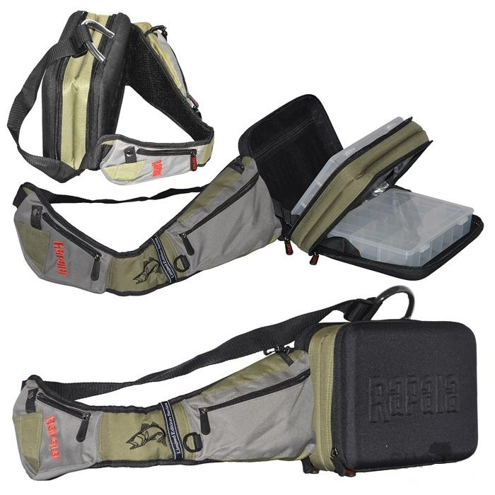 Rapala Limited Series Sling Bag Rapala Legnépszerűbb Pergető Táskája 46006 1