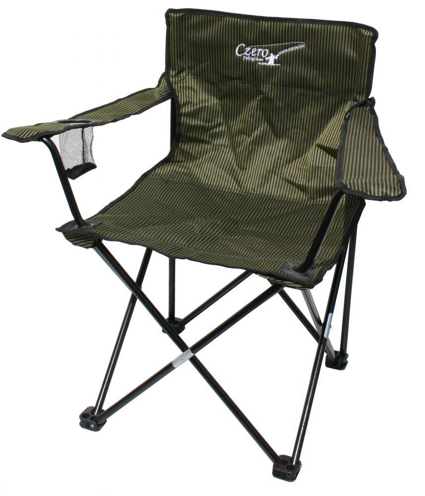 Taurus karfás horgász szék erősített vázzal csíkos